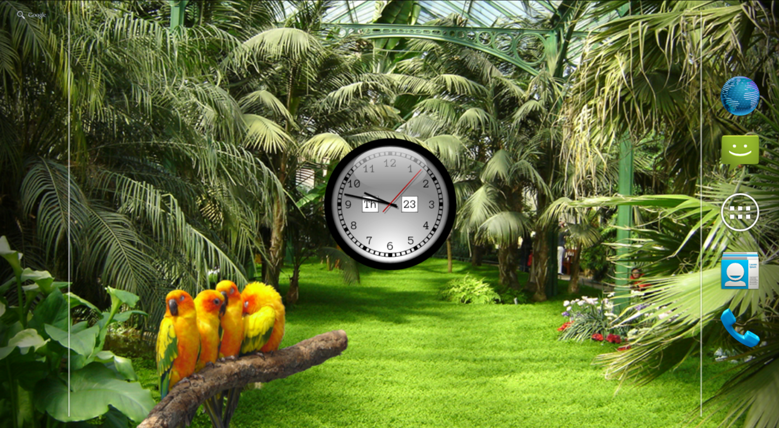 Clock Live Wallpaper Free Android Apps on Google Play