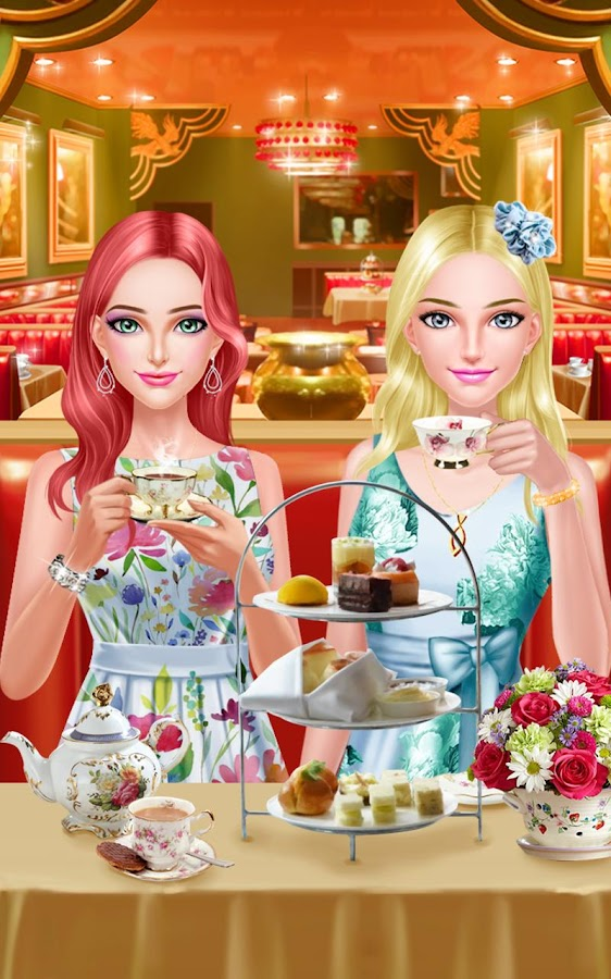BFF Salon - Tea Room Party- screenshot