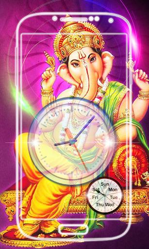 Ganesh Clock Live Wallpaper screenshot 8
