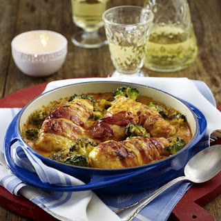Chicken, Broccoli and Bacon Casserole.