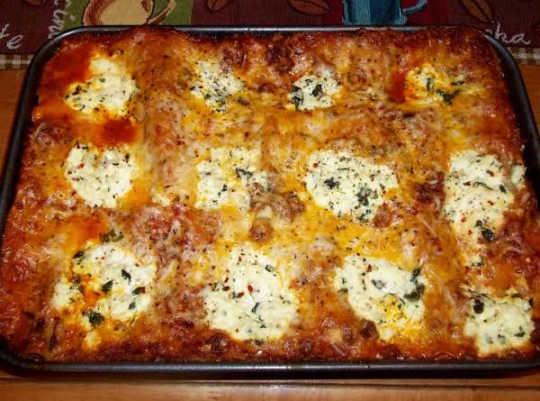 Lasagna  -  Cassie's Way