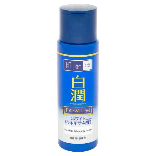 5. HADA LABO Premium Whitening Lotion (สีน้ำเงิน)