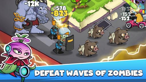 Merge Plants: Zombie Defense apkmr screenshots 7