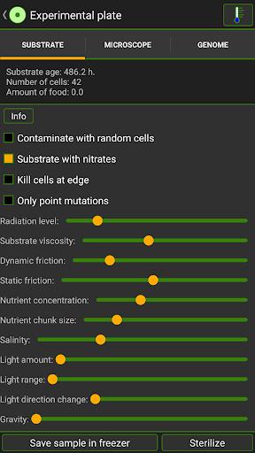 Télécharger Gratuit Cell Lab: Evolution Sandbox APK MOD (Astuce) screenshots 6