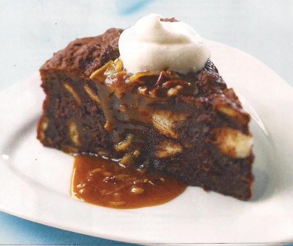 German Chocolate Bread Pudding Recipe