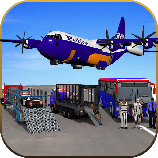 飛行機警察トランスポーター 模擬 App LOGO-硬是要APP