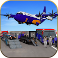 US Police Airplane Cop Dog Transporter Games Free