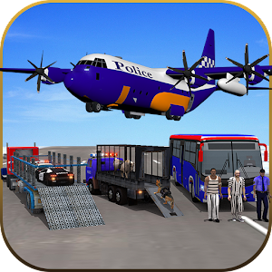 Police Airplane Transporter for PC and MAC