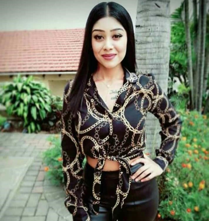 Demisha Naik, 23, was dead at her home in Shallcross, south of Durban, on Tuesday March 26 2019