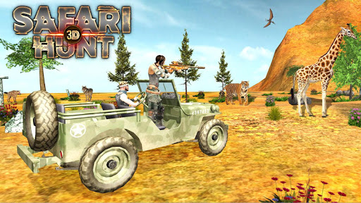Safari Hunt 3D  captures d'u00e9cran 1