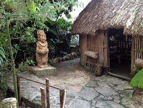 Photo: Museo käsitti myös maya-talon