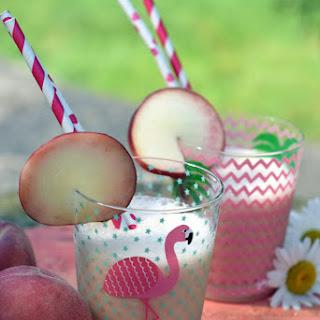 Peach Milkshake.