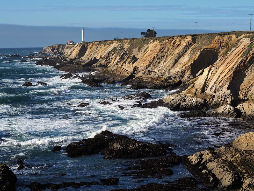 Point Arena Lighthouse, a short detour from Highway One