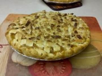 Hot Buttered Rum Apple Pie!