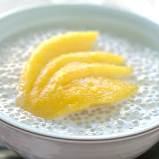 Tapioca and Coconut Pudding