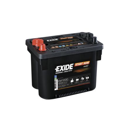 Tudor startbatteri AGM 12V/50Ah