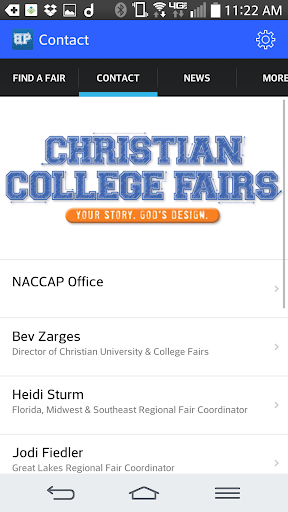 NACCAP Christian College Fairs