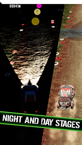 Code Triche Rally Runner - Endless Racing APK MOD screenshots 2