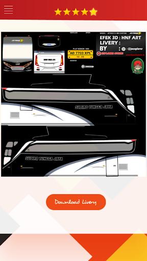Livery Bussid HD Complete 1.4 screenshots 2