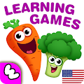 FUNNY FOOD 2 Games! Educational apps for toddlers APK