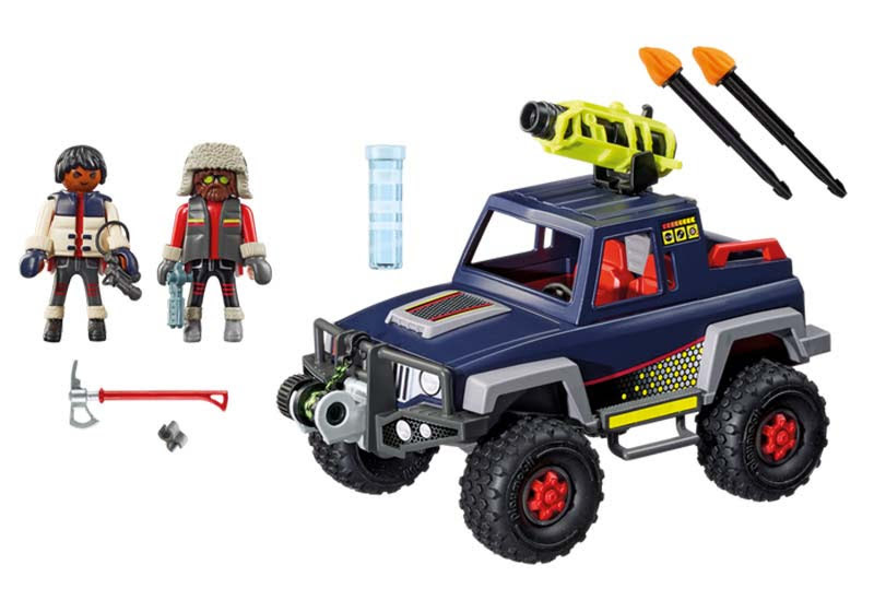 Contenido real de Playmobil® 9059 Todoterreno con Piratas del Hielo