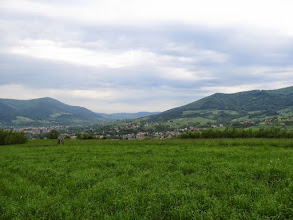 Photo: 10.Szczebel (977 m) i Lubogoszcz-Zapadliska (766 m).