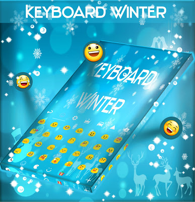Winter Keyboard - screenshot