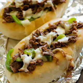 Cheesesteak Sandwiches.