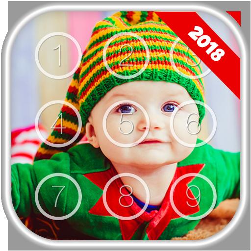 Cute Baby Passcode Lock Screen