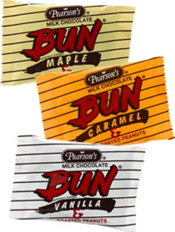 Copy Cat Pearson's Bun Candy Bars