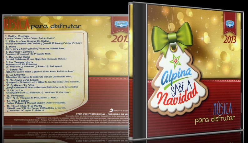 Various Artists - Alpina Sabe A Navidad 2013: Música Para Disfrutar (2013) [MP3 @320 Kbps]
