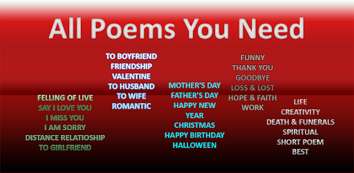 My Poems 2019 1 0 (Android) - Download APK