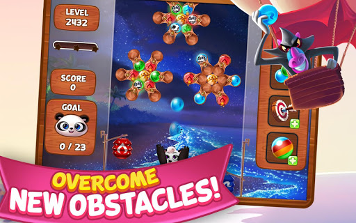 Panda Pop - Bubble Shooter Game. Blast, Shoot Free  mod screenshots 2