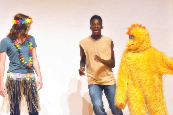 Students in Charity Lip Sync Competition