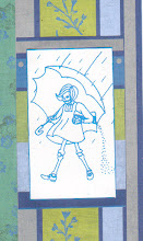 Photo: Wenchkin's Mail Art 366 - Day 129, card 129d