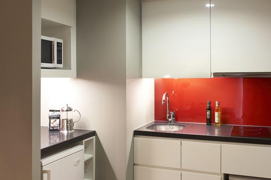 Kitchen at Covent Garden apartment