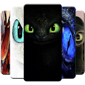 Green Dragon3 Eyes Wallpaper Toothless icon