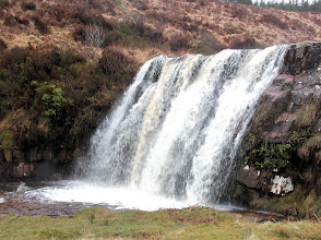 Photo: Waterfall on the Araglin River on Tom Lyons' A walk, Araglin to Clogheen, April 14th, 2013.