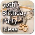 50th Birthday Party Ideas icon