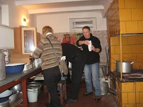 Photo: Po vaišių totoriškoj virtuvėj. Kas puodukus nešioja, o kas...