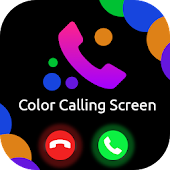 Color Phone Screen : Call Screen Theme & LED Flash