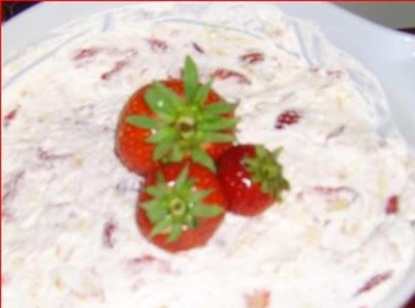Strawberry And Pineapple Whip Dessert Recipe