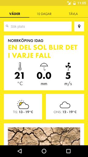 免費下載天氣APP|Sommarväder med SMHI app開箱文|APP開箱王