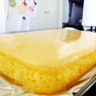 Frank's Custard Cake