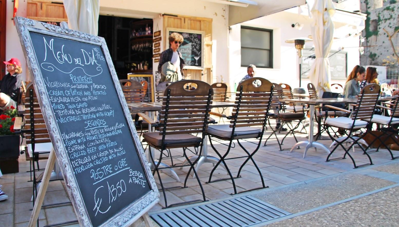 Menú mediodía Manapany Ibiza