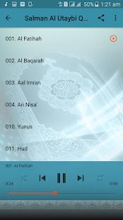 Salman Al Utaybi Full Audio Quran Offline - náhled