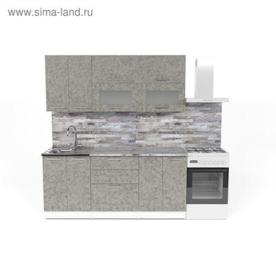 Кухонный гарнитур Валерия макси 2 1800 мм