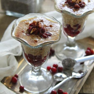 Pumpkin Pie Chia Pudding Parfait