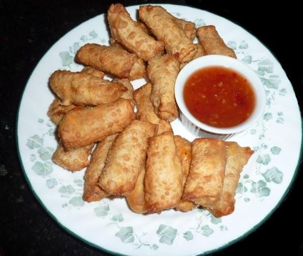 Spicy Salmon Rangoon Wonton Bites Recipe