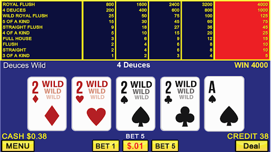 Video Poker Casino Games 7